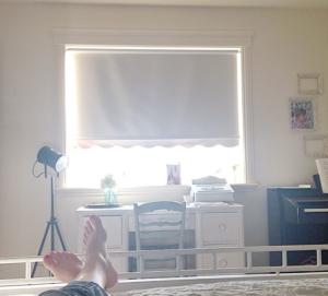 Jamie's #spiritualwhitespace rest time... simply beautiful.