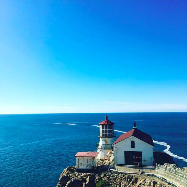 lighthouse point reyes