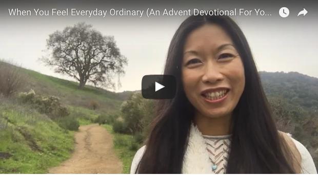 Bonnie Gray Advent Video Devotional for Your Soul Love
