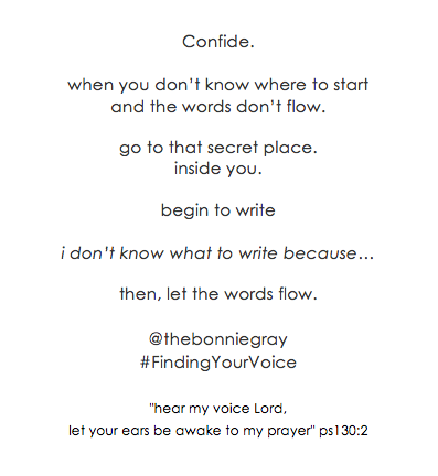 bonniegray_findingyourvoice_tip1