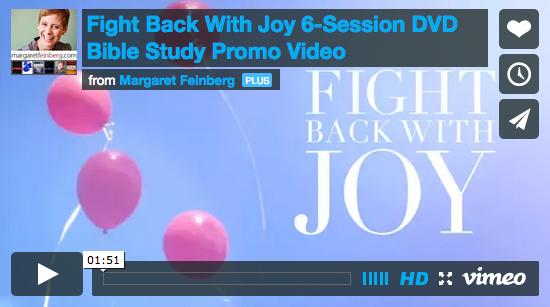 margaret feinberg fight back with joy video