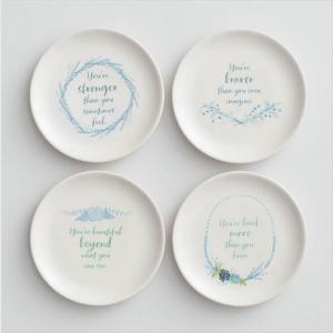 Beautiful, Braver, Stronger, Loved Dessert Plates - DaySpring